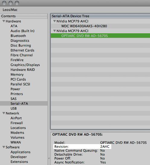 mac mini 2009 efi firmware update