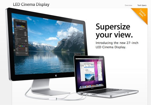 "27"" LED-Cinema-Display"